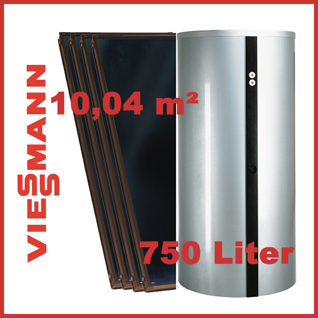 viessmann solar vitosol 200 f 10 04 m mit kombispeicher vitocell 340 m ebay. Black Bedroom Furniture Sets. Home Design Ideas