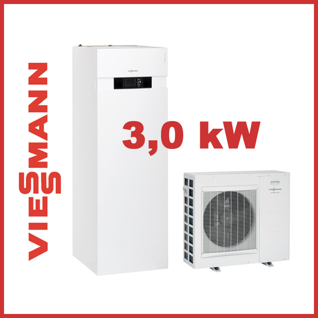 viessmann luft wasser w rmepumpen kompakt vitocal 222 s typ awt ac221 a04 3 0 kw ebay. Black Bedroom Furniture Sets. Home Design Ideas