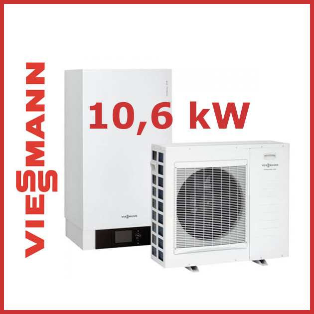 viessmann luft wasser w rmepumpen vitocal 200 s typ awb ac201 c13 9 06 kw ebay. Black Bedroom Furniture Sets. Home Design Ideas