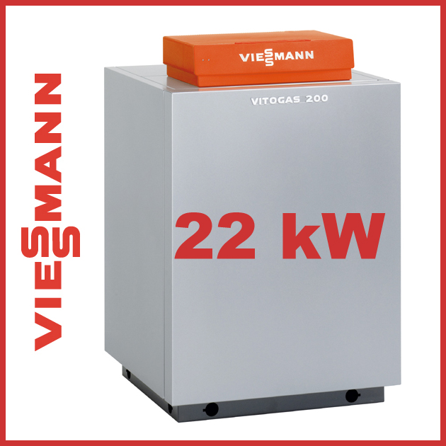 viessmann vitogas 200 f 22 kw gas heizkessel heizung ebay. Black Bedroom Furniture Sets. Home Design Ideas