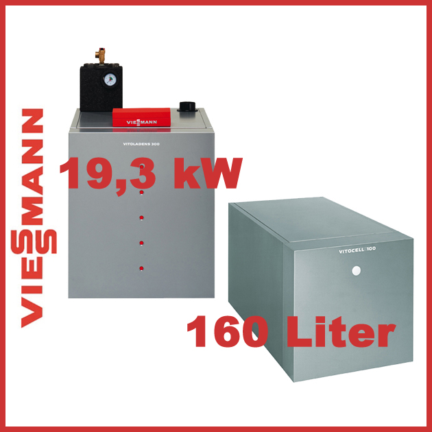 viessmann paket vitoladens 300 c 19 3 kw vitotronic 200 und vitocell 100 h 160 l ebay. Black Bedroom Furniture Sets. Home Design Ideas