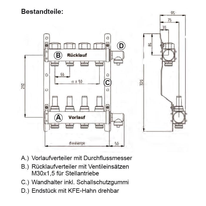 heizungdirekt24 fussboden heizkreisverteiler. Black Bedroom Furniture Sets. Home Design Ideas